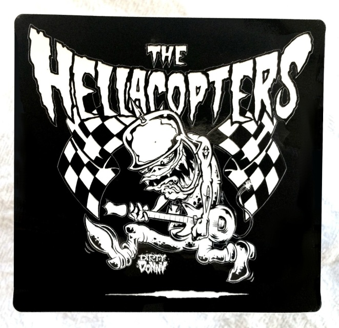 Hellacopters Guitar Monster Sticker 4 Quot